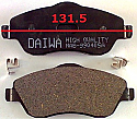 Opel Balata 131.5mm Fren Stop On (Brake Pads FR)