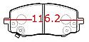 Hyundai i20 Balata On (Brake Pads Front)