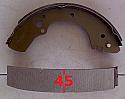 Isuzu KB TFR TFS Rodeo Mu Balata Arka (Shoe Rear Brake)