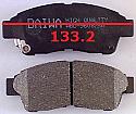 Toyota Rav 4 Corona Balata 133.2mm Fren Stop On (Brake Pads)