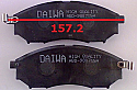 Nissan Navara D40 Z350 Balata 157.2mm Fren Stop On (Brake Pads FR)