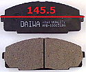 Toyota Hiace Balata 145.5mm Fren Stop On (Brake Pads FR)