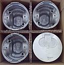 Mitsubishi 4D56-T Piston Gomlek Sekman Takim (Piston Liner Ring Kit)