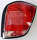 Opel Vauxhal Astra H 2007-2008 Far Arka Sol (Tail Lamp Left Wagon)