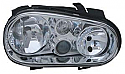 VW Golf 4 97-03 Far On Sag Sis Farli (Head Lamp Right With Fog Lamp)