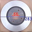 Peugeot Disk 207/307/308/3008/5008 283x66x35 (Discs Front)