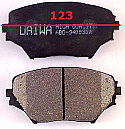 Toyota Rav4 Balata 123mm Fren Stop On (Brake Pads)