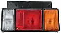 Isuzu Elf NHR NKR 85-91 Far Arka Sol (Tail Lamp LH)