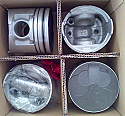 Mitsubishi 4M40-T Pajero Shogun 2800 Piston Gomlek Sekman Set (Piston+Rings+Liner Kit Set)