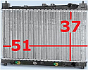 Toyota Fun Cargo 99-05 Radyator ( Radiator AT MT)