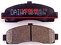 Nissan March Micra Balata 120.8mm Fren Stop On (Brake Pads FR)