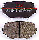 Suzuki Vitara Escudo Balata 110mm Fren Stop On (Brake Pads FR)