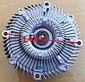 Isuzu 4JA1 4JB1 Termik ( Clutch Fan )