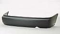 Honda CIVIC EK HB 98-99 Tampon Arka (Bumper Rear Without Molding)