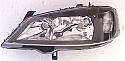 Opel Astra G 89-04 Far On Sag Performans (Head Lamp Black Frame Right)