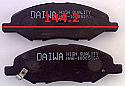 Nissan Tida March Micra 00-08 Balata 144.2mm Fren Stop On (Brake Pads FR)