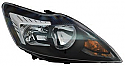 Ford Focus IV  Far On Sag Siyah (Head Lamp RH Black Frame)