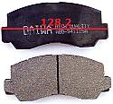 Mitsubishi Strada Pajero Balata 128.2mm Fren Stop On (Brake Pads FR)
